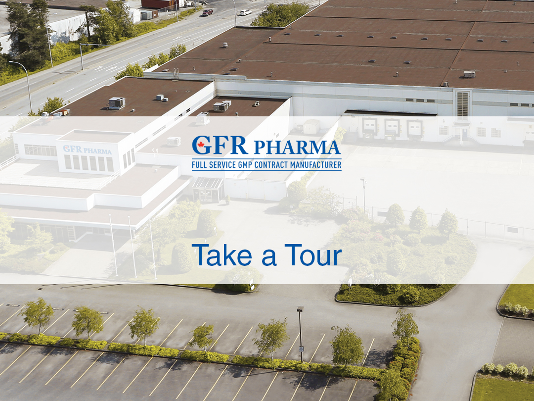 GFR Pharma- Canadian GMP Contract Manufacturer