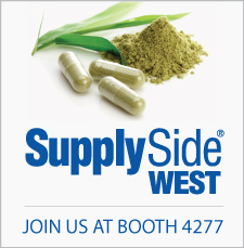 SupplySide West 2018 Booth 4277